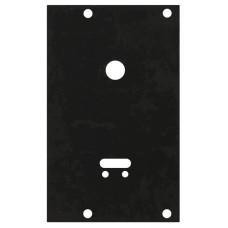 Пластина защитная для замков сувальдных (ключ внизу, тип-размер CISA 57.535)