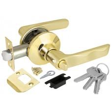 Ручка защелка 6024 PB-E (кл./фик.) золото