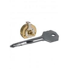 Цилиндровый механизм 164/FB mm для замков с крест. ключами 3 кл.
