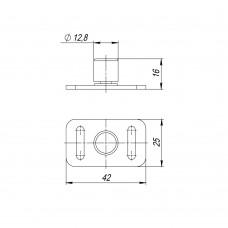 Нижний направляющий ролик Comfort-PRO / Comfort