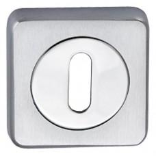 Накладки Oberon Normal key, матовый хром/хром
