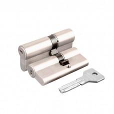 Цилиндровый механизм Cisa ASIX OE300-17.12 (80 мм/25+10+45), НИКЕЛЬ
