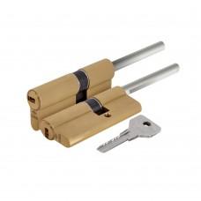 Цилиндровый механизм под вертушку (дл. шток) Cisa ASIX OE307-81.00 (65 мм/30+10+25), ЛАТУНЬ