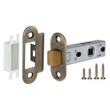Защелка врезная PLASTIC P22-45-25 AB бронза
