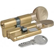 Цилиндровый механизм с вертушкой 164 SM/68 (26+10+32) mm латунь 5 кл.