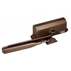 Доводчик дверной TS 77 EN4, с рычажной тягой, коричневый