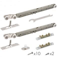 Комплект для раздвижных дверей Comfort - PRO SET 2 /soft close/ 80 (CFA170А)