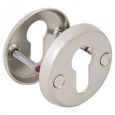 Декоративная накладка ESC-С-001-SN цилиндровая (матовый никель)