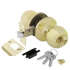 Ручка защелка 6082 PB-E (кл./фик.) золото