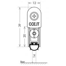 Автоматический порог EASY TREND SQ cod. ASTDSQ, B4/1030