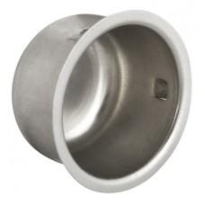 Заглушка  металлическая  (диаметр 25 мм)