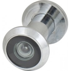 Глазок дверной, пластиковая оптика DV1, 16/35х60 CP Хром