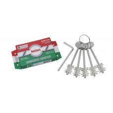 Комплект ключей ЗК.703 (серия B) 5 кл. (кл. 104 мм) /128:5204/