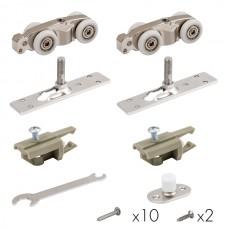 Комплект для раздвижных дверей Comfort - PRO SET 1 /rollers/ 80 (CFA170)