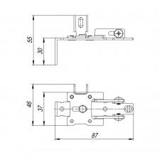 Кронштейн регулировочный Comfort-PRO/Telescope