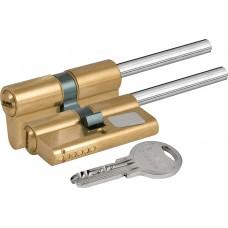Цилиндровый механизм под вертушку (дл.шток) 164 SX/71 (35+10+26) mm латунь 5 кл.